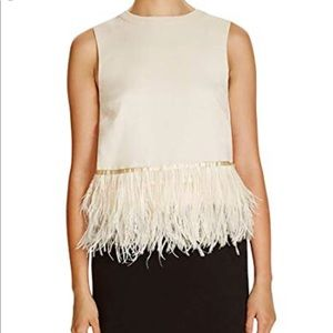 Endless Rose Feather Top S